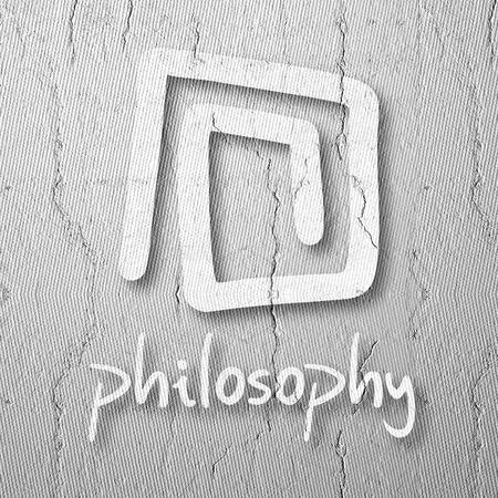 philosophy of logic: Symbol philosophy Stock Photo