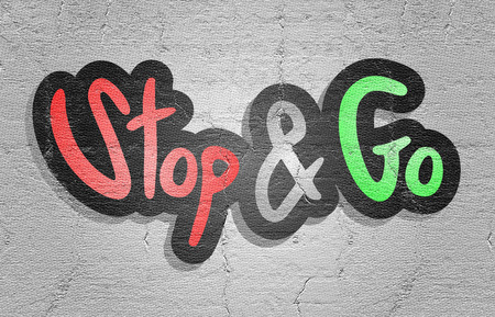 hinder: Sticker go and stop