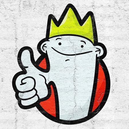 highness: Happy prince Stock Photo
