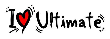 ultimate: Ultimate love Illustration