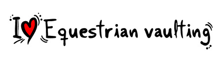 equestrian: Equestrian vaulting love