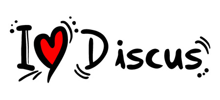 strong message: Discus love