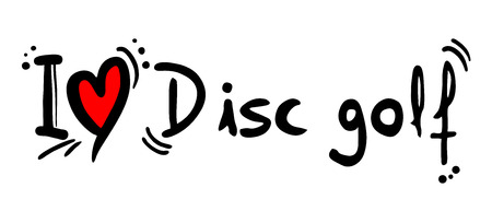 disc golf: Disc golf love