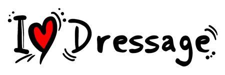 dressage: Dressage love