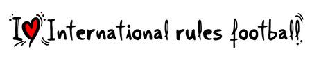 Internationale regels voetbal liefde