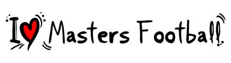 master's: Masters Football love