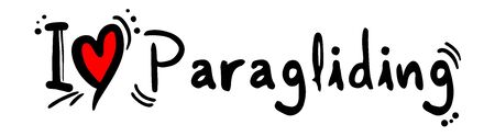 paragliding: Paragliding love