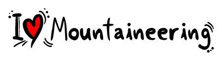 mountaineering: Mountaineering love