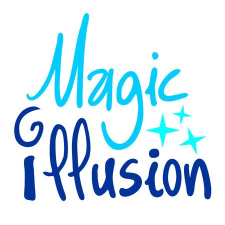 escher: magic illusion symbol Illustration