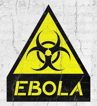 germ warfare: Ebola advise symbol