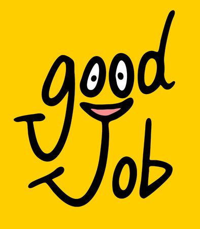 dobrý: Dobrá symbol práce