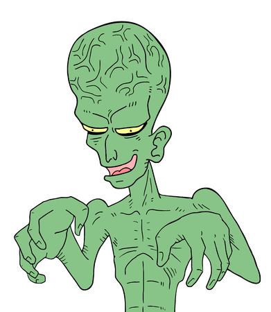 freaky: ugly alien