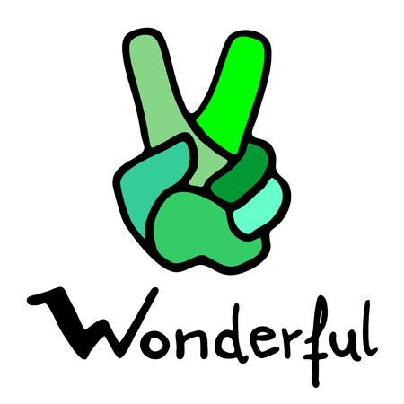 wonderful: wonderful symbol