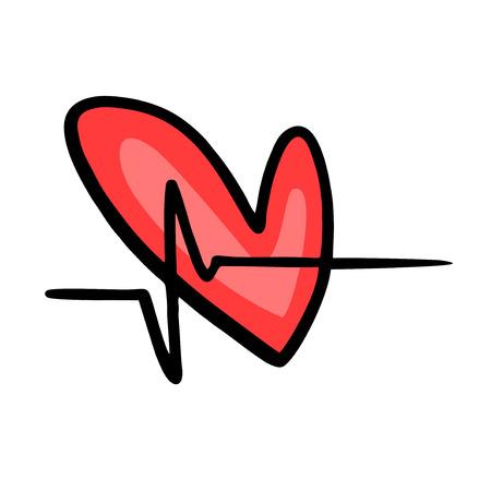 PULSE: pulse heart Illustration