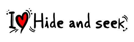 hide: Hide and seek love
