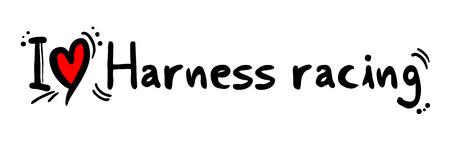 harness: Harness racing love