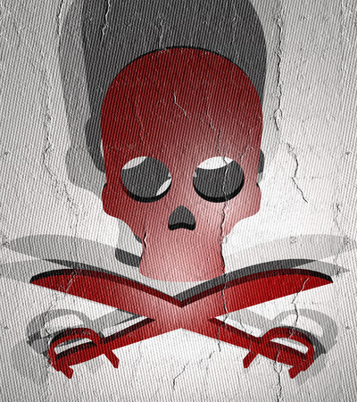 kill: Kill fear Stock Photo