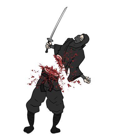 gore kill ninja
