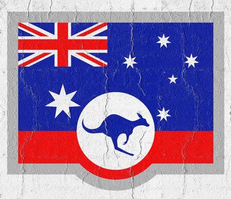 oz: Kangaroo flag