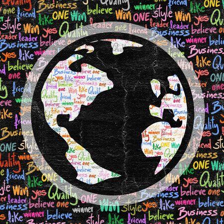 world class: Color world Stock Photo