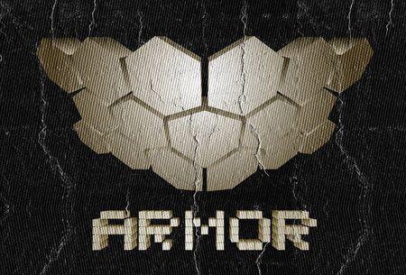 tagline: Hard armor Stock Photo