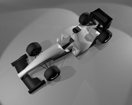 racecar: render car