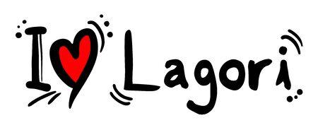 heart heat: Lagori love Illustration