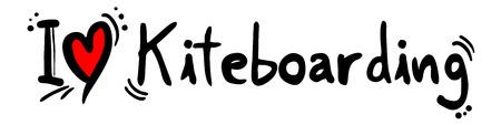 kiteboarding: Kiteboarding love