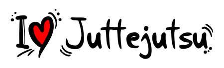 heart heat: Juttejutsu love Illustration