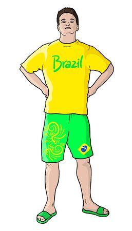 brazilian: brazilian boy