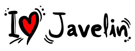 javelin: Javelin love Illustration