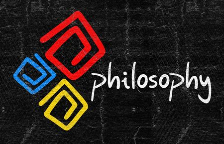 philosophy: Philosophy symbol Stock Photo