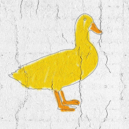 parish: Yellow duck