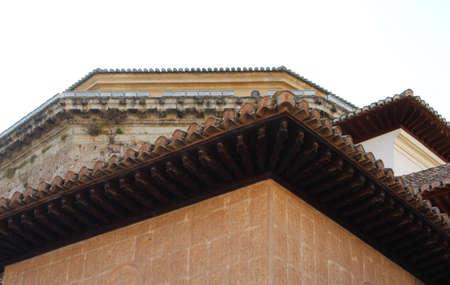 worn structure: Vintage architecture Stock Photo