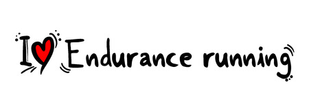endurance: Endurance running love