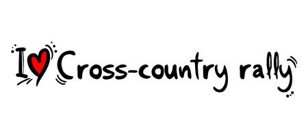 country: Cross country rally love