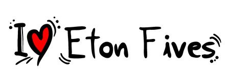 Eton Fives love