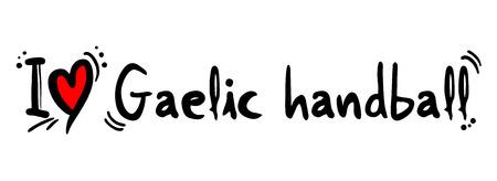 gaelic: Gaelic handball love