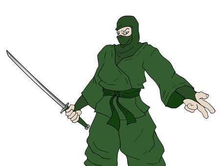 stealth: green ninja