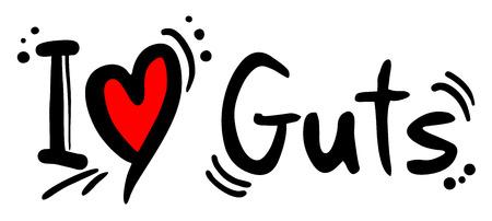 guts: Guts love