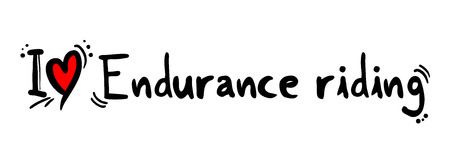 endurance: Endurance riding love
