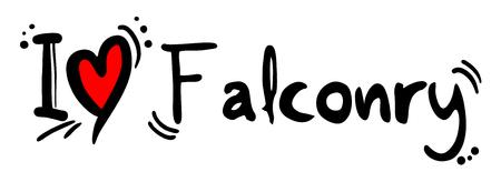 falconry: Falconry love