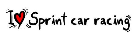 sprint: Sprint car racing love