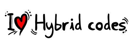 hybrid: Hybrid codes love Illustration