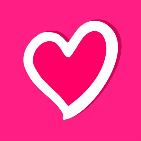 pink heart: pink heart icon
