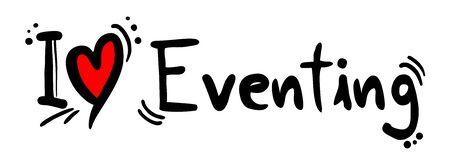 eventing: Eventing love Illustration