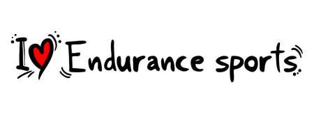 endurance: Endurance sports love