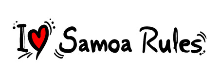 samoa: Samoa Rules love