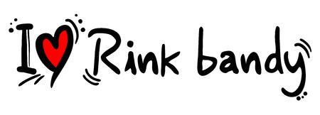 bandy: Rink bandy love
