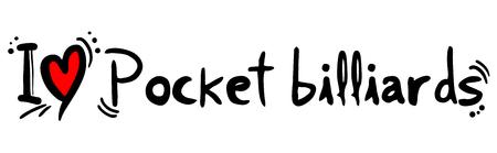 Pocket billiards love